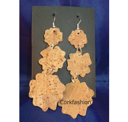Earrings (LC-822 model 4) from the manufacturer 3Dcork
